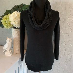 ✨MICHAEL KORS✨ Cowl Neck Black XS Knitted Sweater
